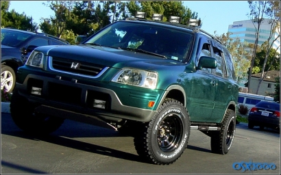 Honda Cr V Lift Kit