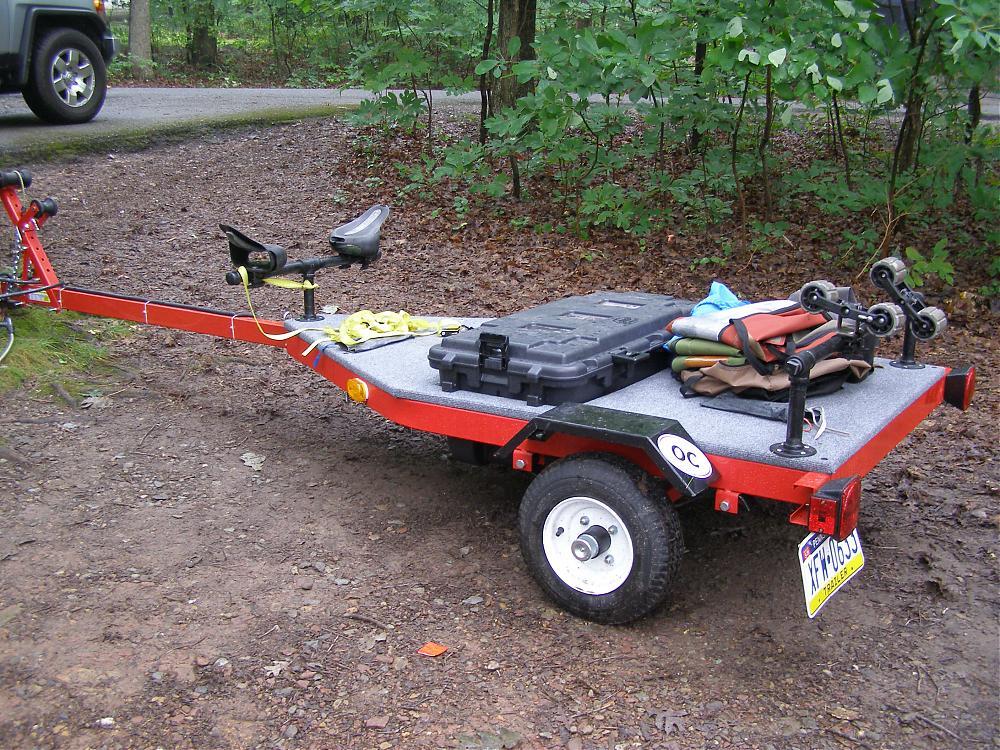 guide to get diy hobie kayak trailer distance