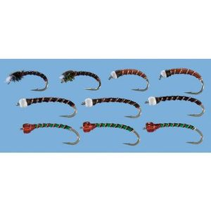 Stillwater Chan's Chironomid 10Piece Assortment