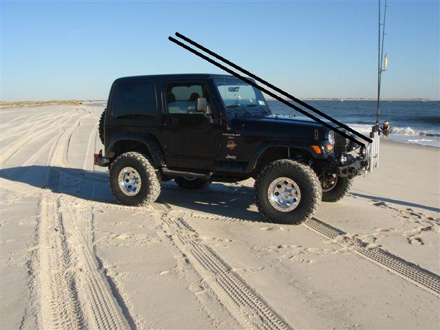 Jeep fishing rod holders quotes for Jeep fishing rod holder