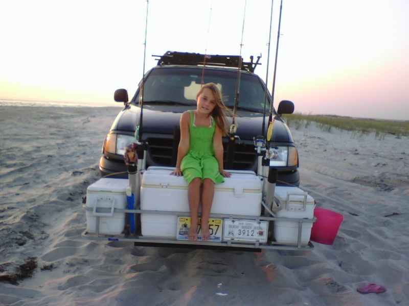 Front cooler racks and licence plate ford truck for Fishing rod holders for trucks