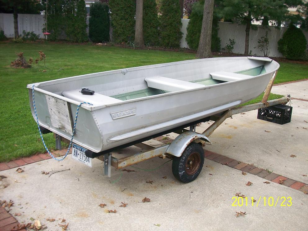 Aluminum Boat Sears 12 Foot Aluminum Boat