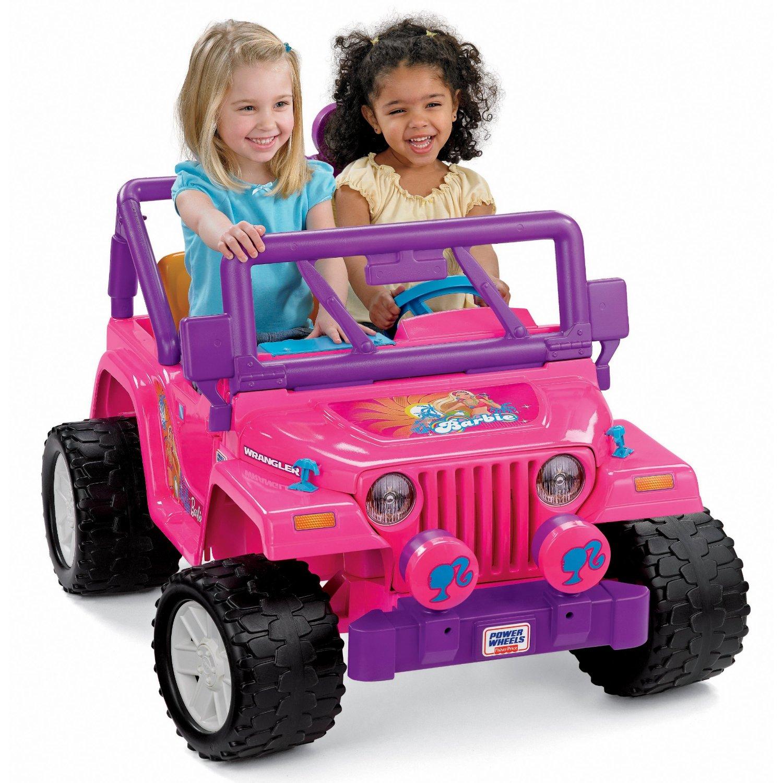 Rubicon4wheeler Extreme Barbie Jeep Racing