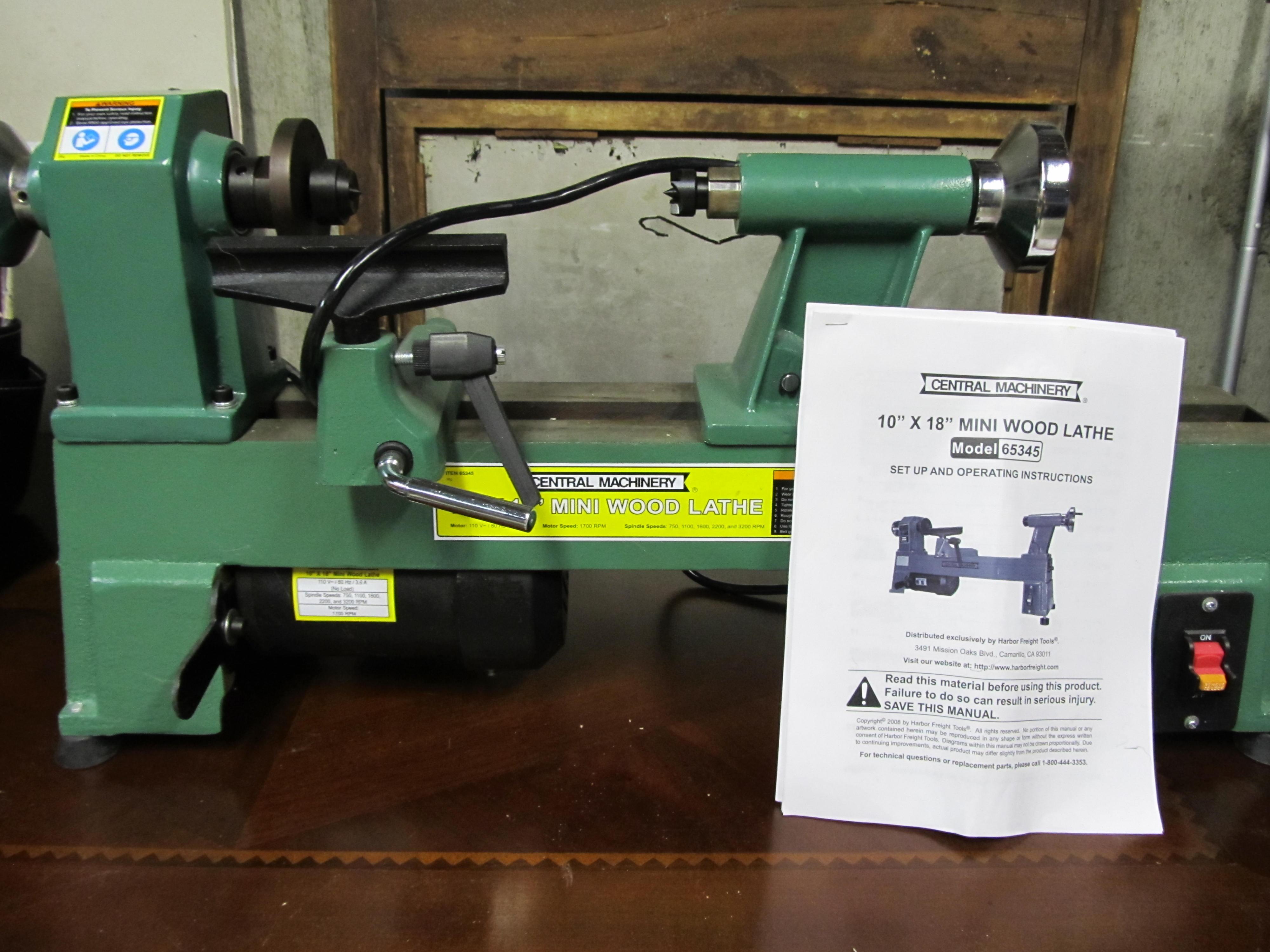 Woodworking benchtop wood lathe PDF Free Download