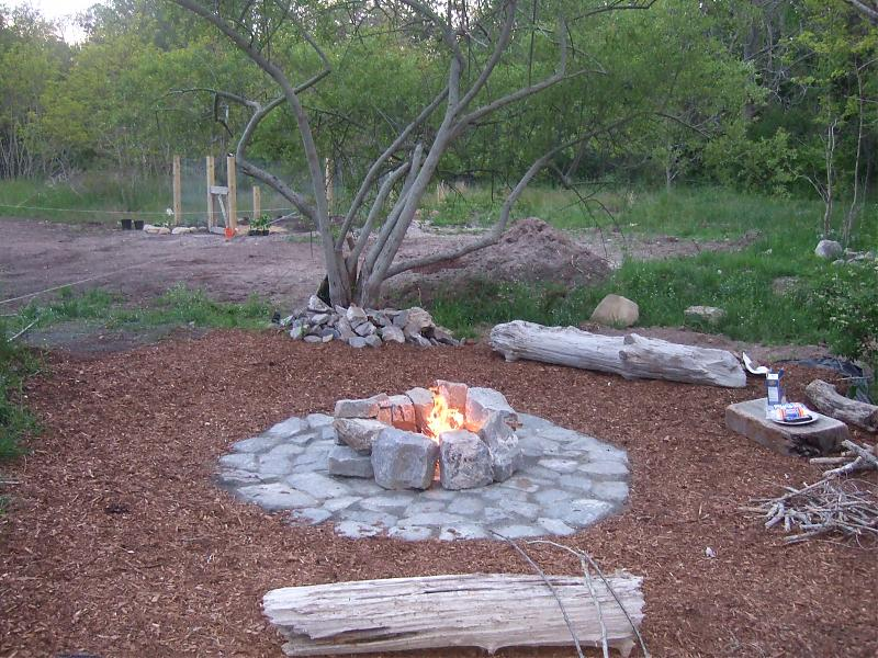 fire pit ideas and materials