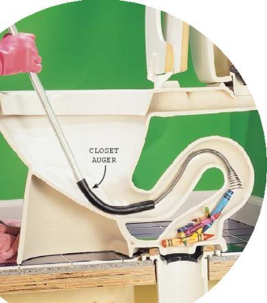 pickles toilet clog plumbing diy home improvement diychatroom. Black Bedroom Furniture Sets. Home Design Ideas